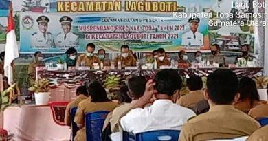 Musrenbang RKPD Kecamatan Laguboti Kabupaten Toba Tahun 2021