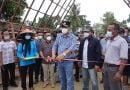 Bupati Lampung Tengah Resmikan Pasar Kuliner Tradisional Karang Endah