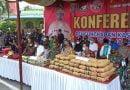 Kapolrestabes Medan dan Forkompinda Musnahkan Sabu dan Ganja